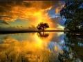 Imagine cu apus de soare