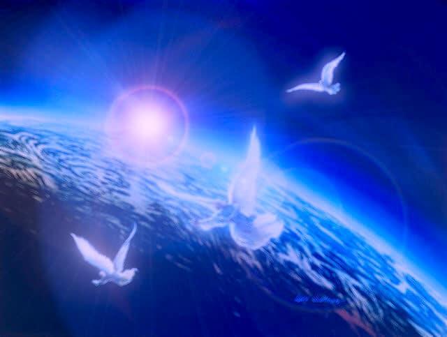 ingeri in cer