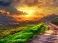 un rasarit de soare divin