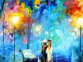 Pictura, cuplu romantic