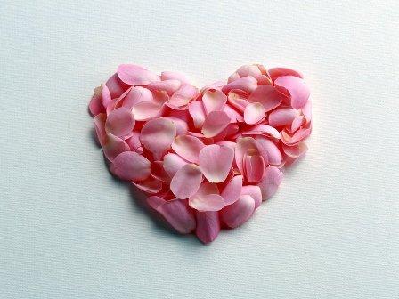 poza de iubire cu inima