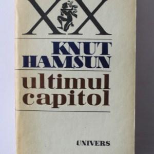 Ultimul capitol - Knut Hamsun 1